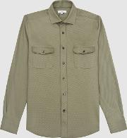 Pricey Heavy Twill Overshirt