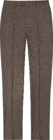 Quake Slim Fit Brushed Cotton Trouser