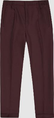 Rabbit Pleat Front Trousers