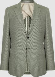 Richie Textured Single Breasted Blazer