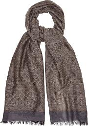 Roger Geometric Patterned Scarf