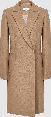 Santhia Wool Blend Double Breasted Coat