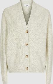 Simone Wool Cashmere Blend Cardigan