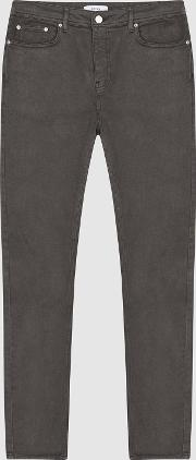 Spruce Slim Fit Five Pocket Trousers
