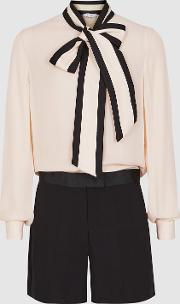 Tamsin Bow Detailed Playsuit