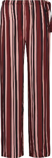Tilda Striped Satin Pyjama Bottoms