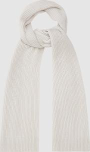 Tobias Cashmere Ribbed Scarf