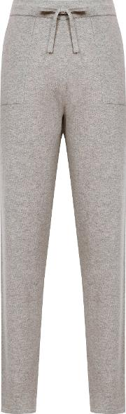 Tracy Wool Blend Knitted Joggers