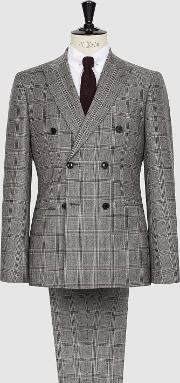Virna Wool Checked Two Piece Suit