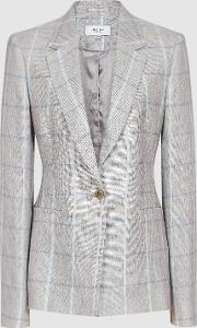 Willow Jacket Checked Tailored Blazer