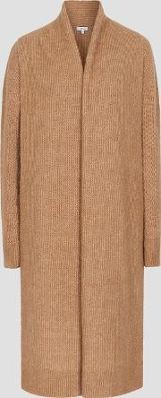 Willow Longline Ribbed Knit Cardigan