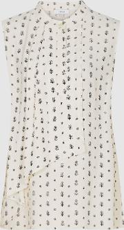 Willow Printed Sleeveless Blouse