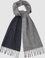 Wilson Wool Cashmere Blend Striped Scarf