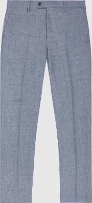 Worley Wool Slim Fit Trousers