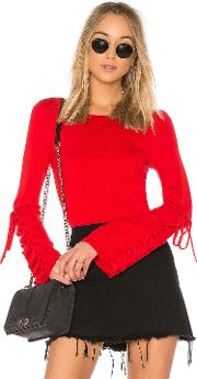 Laced Sleeve Sweater