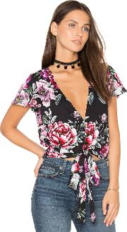 Cropped Tie Top