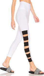 Wide Band Stacked Capri Legging