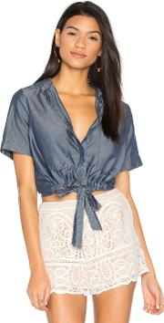 Sarai Tie Front Button Up