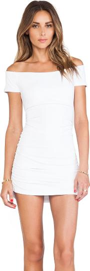 Jona Off The Shoulder Ruched Tee