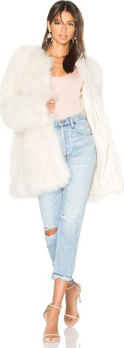Marabou Feather Coat