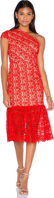 Camelot Embroidered Toga Dress