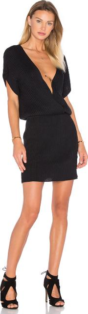 Sayi V Neck Sweater Dress