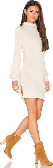 Zoni High Neck Sweater Dress