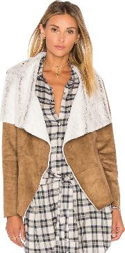 Bourne Jacket With Faux Fur Lining