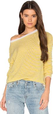 Clarisse Stripe Cashmere Sweater