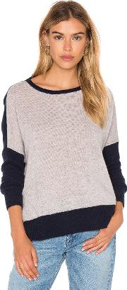 Cressida Color Block Cashmere Sweater