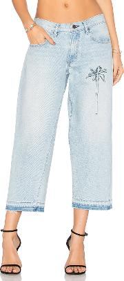 Cropped Baggy Jean