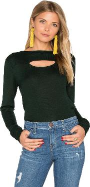 Long Sleeve Front Cut Out Sweater