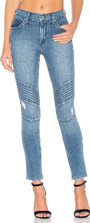 Distressed Ankle Moto