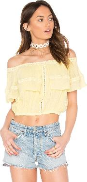 Flame Lily Top