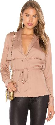 The Trench Blouse
