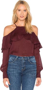 Philipa Cold Shoulder Top