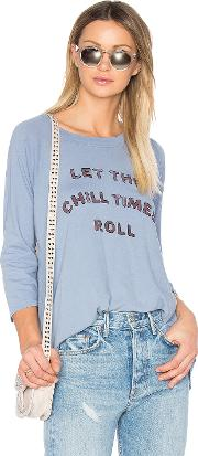 Chill Times Roll Rowe Raglan