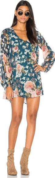 Donna Michelle Tunic Dress In Fall