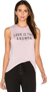 Love Is The Answer Tank