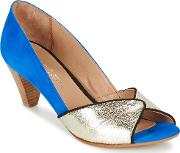 Gabyn Women's Court Shoes In Blue
