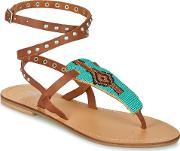 Gerita Women's Sandals In Brown