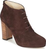 Panay Women's Low Ankle Boots In Brown
