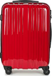 Women's Hard Suitcase In Red