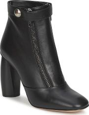 Norvegia Women's Low Ankle Boots In Black