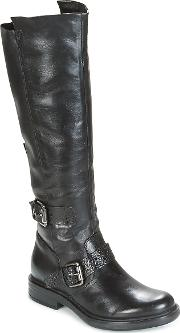 Cafe Boots Women's High Boots In Black