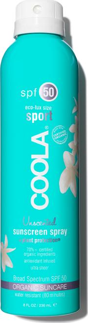 Eco Lux Spf 50 Unscented Sunscreen Spray