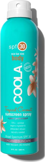 Eco Lux Spf30 Tropical Coconut Sunscreen Spray