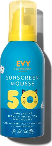 Sunscreen Mousse Spf 50 Kids