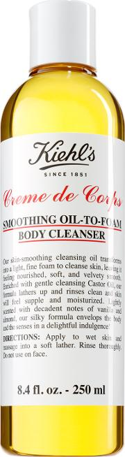 Creme De Corps Smoothing Oil To Foam Body Cleanser