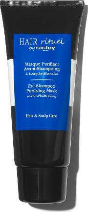 Pre Shampoo Purifying Mask With White Clay